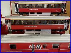 LGB RhB 23430 Felsburg Swiss Electric GE 4/4 II. (2)3067, 3068, 3069 Train Set