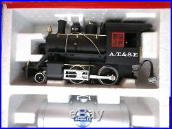 LGB Steam Locomotive G Gauge Train Starter Set Santa Fe Light & Smoke Excellent