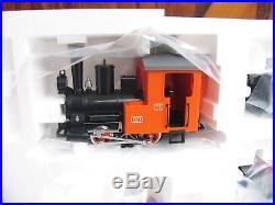 LGB TOY TRAIN 90470 START-SET mit DAMPFLOK ohne ZUBEHÖR E416