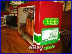 LGB The Big Train #20301 PASSENGER STARTER SET with many, many extras