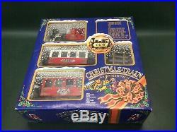 LGB The Christmas Train 1992 Christmas Set RED 22540 in Box