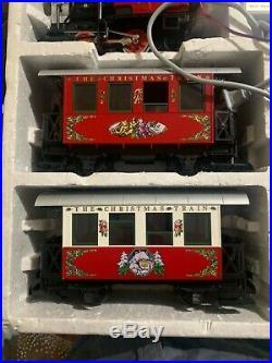LGB The Christmas Train Christmas Set REDDOES