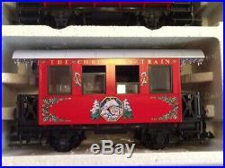LGB The Christmas Train RARE 1991 Christmas Set RED 21540