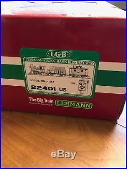 LGB Vintage 22401 Lake George Goods Train Set