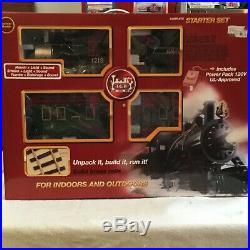 LGB train 72334 starter set, with sound, smoke and light (free shipping USA)