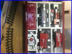 LGB train set Coca Cola still in box, excellent condition. Original owner