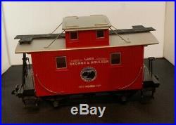 LGB train set, lake George and Boulder set