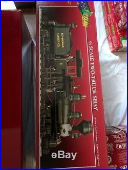 Large LGB G Scale Model Train Set