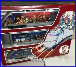 Lehmann G Scale 92950 DC Comics Super Hero Train Set Clean