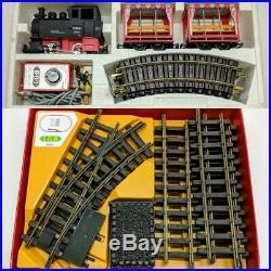 Lehmann LGB 20701T Passenger Train Starter Set with 99 5001 Engine & 20901 Tracks