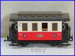 Lehmann LGB Electric Passenger Train Set, Troller Autopulse Supply, G Scale, 20401