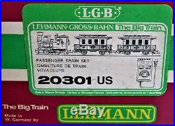 Lehmann LGB The Big Train #20301 US G Scale Train Set Complete