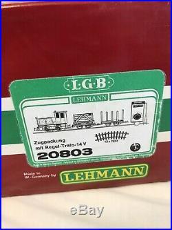 Lehmann Lgb 20803 G Scale Diesel Freight Train Set New With Box