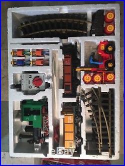 Lehmann Toy Train Set Outdoor Action #92785