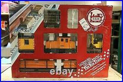 Lehmann-gross-bahn (lgb) 21990 Rare Construction Work Set/the Big Train Used