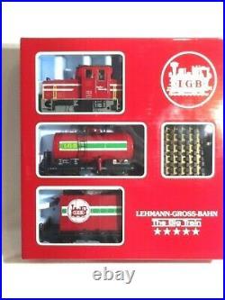 Lgb 100th Anniversary 1881-1981 Big Train Freight Set