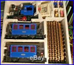 Lgb 20301 Bz The Blue Train Set 100th Anniversary 1881-1981