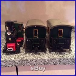 Lgb 20534 Marshal Field Locomotive N. 2 & Passenger Train Set Mint In Box Tested