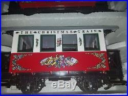 Lgb 21540 Christmas Santa Claus Passenger Train Set Free Shipping