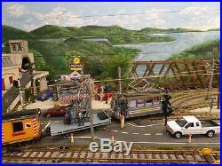 Lgb 22355 Work Train Set With Massoth Emotion Ls Sound & Lgb 40480 Tool Car