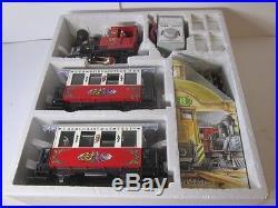 Lgb 22540 Christmas Passenger Train Set
