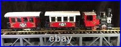 Lgb #22540 The Christmas Train Red Starter Set