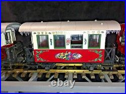 Lgb #22540 The Christmas Train Red Starter Set G Scale Excellent Condition