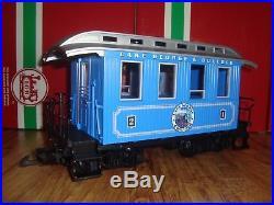 Lgb 72327 L. G. & B. Passenger Train Set Of 3 Pcs No Track & Tansformer! Christmas