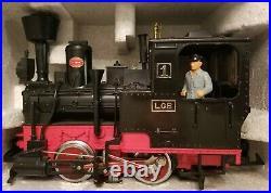 Lgb Christmas Music Car Train Set! Beautiful