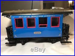 Lgb G Scale 20301bz The Blue Train Set In Original Box- Ln