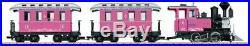 Lgb G Scale Pink Train Passenger Starter Set Bn 72306