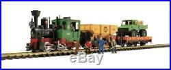 Lgb G Scale Work Train Starter Set 120v Bn 72403