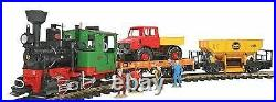 Lgb G Scale Work Train Starter Set (ships In 1 Bus Day) 72403