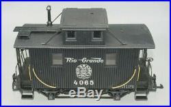 Lgb G-gauge 20087 Rio Grande Toy Train Set In Ob
