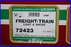 Lgb Lehmann Gross Bahn G Scale Freight Train Set 72423 Locomotive