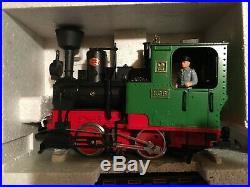 Lgb Passenger Train Set Plus Extra Cars & Track The Big Train