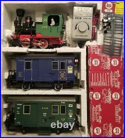 Lgb Postal Car Train Set! Beautiful