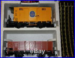 Lgb Train Set 20401 Us Big Goods Set In Box Track Figures