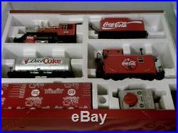 Lgb g scale coke train starter set