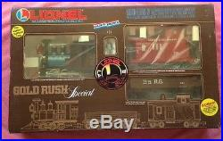 Lionel 8-81000 Gold Rush Special Train Set G SCALE