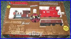 Lionel 8-81000 Gold Rush Special Train set