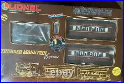 Lionel 8-81001 The Thunder Mountain Express G Gauge Steam Train Set Sealed