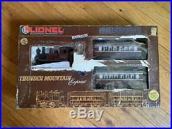 Lionel 8-81001 Thunder Mountain Express Train set