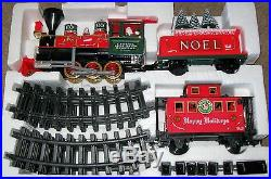 Lionel G Gauge Holiday Train Set Battery Operated 62134