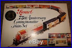 Lionel Trains 1975 75th Anniversary Commemorative Train Set 6-1585
