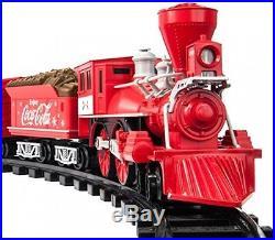 Lionel Trains Coca Cola G Gauge Train Set Metal Red Locomotive Caboose Remote