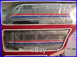 MIB LEHMANN G Scale 3pc AMTRAK METRO LINER Train Set # 91950