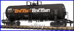 MTH G Scale 70-73058 & 73059 GATX Unibody Tank Train 2 Car Set