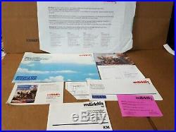 Marklin 5441 Maxi 3-Unit Train Set in original packaging