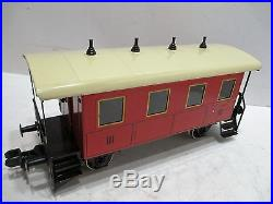 Marklin G Scale Train Set All Metal Engine And Cars Excellent Cond Tested Works